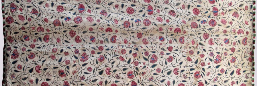 18th Century Indian Mughal Summer Carpet