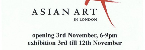 Eastern Treasures Exhibition for Asian Art 3rd-12th November At Zadah Gallery