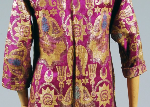 Ottoman silk coat, made in Bokhara in the 19th century
