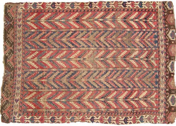 Turkmen Seltener Engsi co583 145x109cm