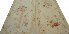 co624 Pair of Aubusson Tapestry Panels 270x91cm