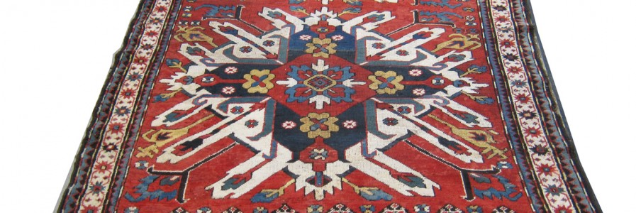 Gelaberd Rug, 19th Century Eagle Kasak