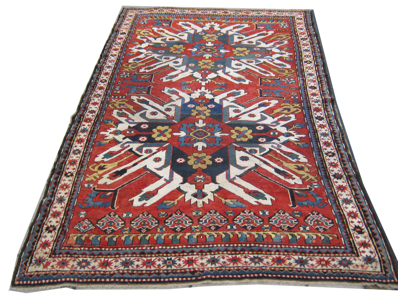 Rug 19th century eagle kasak 19th century gelaberd eagle kasak rug