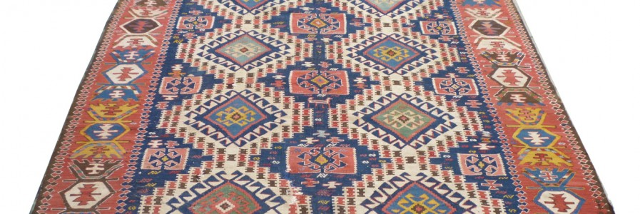 Caucasian Shirvan Kilim co630