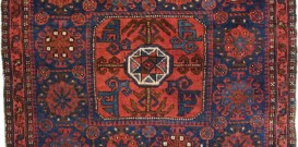 Antique Persian Rugs - Belouch Bag Rug