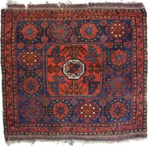 Antique Persian Rugs - Belouch Bag Rug