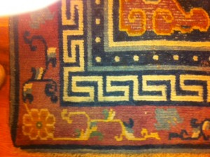 19th Century Tibetan Dragon Rug - Zadah Eastern Gems