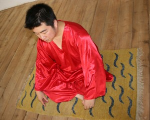 Tibetan Prayer Rug Sifu Rob Ho